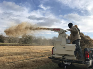 Straw blowers can do more than just cover seed